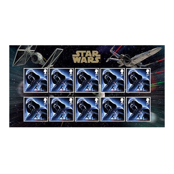 StarWars_DarthVadar StampSet_Large